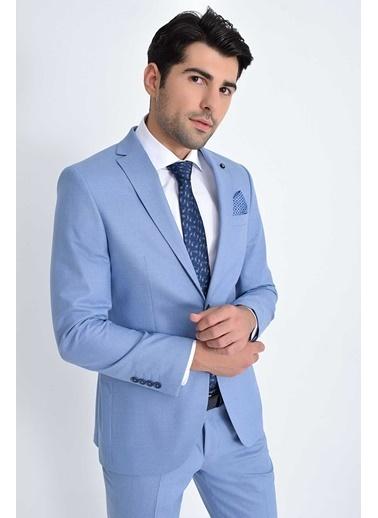 Hatemoğlu Takım Elbise Mavi